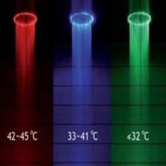 Cumpara ieftin Cap dus cu led si senzor de temperatura