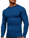 Pulover albastru bărbați Bolf 4603