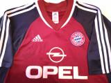 Tricou fotbal - BAYERN MUNCHEN cu semnatura jucatorului Mehmet SCHOLL, L, De club, Adidas