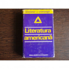 Literatura americana Dictionar-cronologic, Dan Grigorescu
