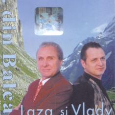Caseta audio: Laza si Vlady Cnejevici - Cantece de petrecere ( 2000, originala ), Casete audio