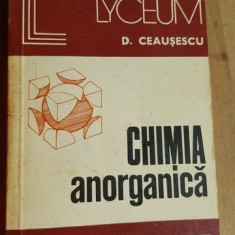 Chimia anorganica- D. Ceausescu