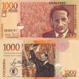 Columbia 2015 - 1000 pesos UNC
