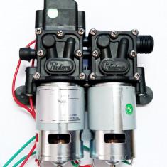 Pompa apa cu presostat, 12V, 8 litri/minut, 150PSI, 10.3ba, autoamorsare