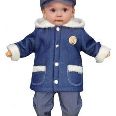 Costum de botez pentru baietei-Baby Colibra 96228AL, Albastru