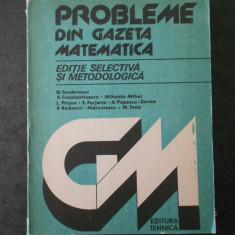 N. TEODORESCU - PROBLEME DIN GAZETA MATEMATICA
