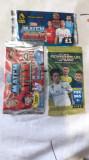 3 plicuri sigilate de cartonașe fotbal european, Panini
