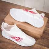 Pantofi sport barbati albi Olvin
