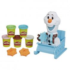 Pasta de modelat Play-Doh - Sania lui Olaf