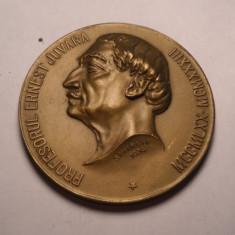 Medalie E Juvara Profesor la Facultatea de Medicină din București 1934 UNC RARA