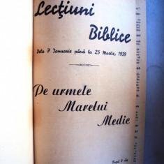 Carte  religie     Culegere  Lectiuni   biblice  1939 - 1940