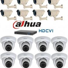 Kit Supraveghere Video Megapixel Interior Exterior HD-CVI Dahua S3