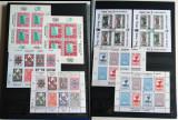 Clasor vignete moderne 52 blocuri + 26 colite, viniete Romania 1995-2000, Romania de la 1950