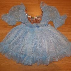 costum carnaval serbare rochie dans balet gala pentru copii de 4-5-6 ani