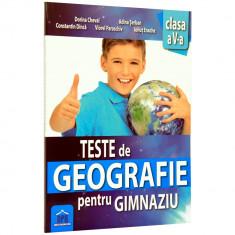 Teste Geografie Cls a V-a