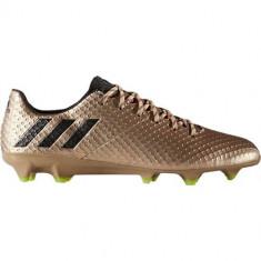 Ghete Fotbal Adidas Messi 161 FG BA9109, 39 1/3, Auriu, Barbati