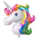 Balon folie - unicorn - curcubeu -  106 cm / 86 cm