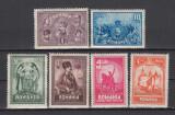 ROMANIA 1929 LP 82 - 10 ANI DE LA UNIREA TRANSILVANIEI SERIE MNH, Nestampilat