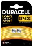 Baterie 357 / 303 / SR44 - Duracell ,2 buc / set