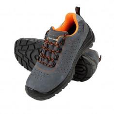 Pantofi piele intoarsa Lahti Pro, perforati, marimea 46
