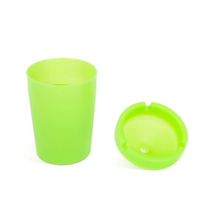 Scrumiera - fosforescenta - verde - 110 mm - 56314B
