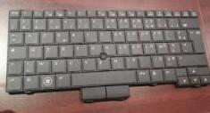 Tastatura Originala HP Elitebook 2540p layout FRANTA foto