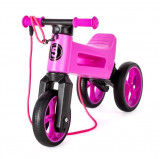 Bicicleta fara pedale Funny Wheels Rider SuperSport 2 in 1 Violet