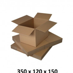 Cutie carton 350x120x150, natur, 3 starturi CO3, 435 g/mp
