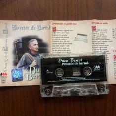ducu bertzi poveste de iarna caseta audio muzica folk sarbatori Intercont 2000