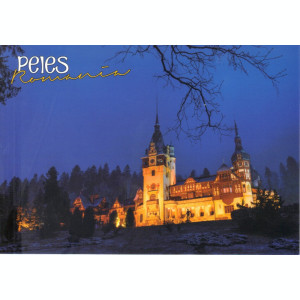 Carte postala PH069 Sinaia - Castelul Peles - necirculata