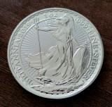 MAREA BRITANIE - 2 Pounds Lire 2019 - Britannia uncie argint 31.1 gr. - 999/1000