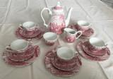 Set - ceai / cafea - portelan Englezesc - Myott - Royal Mail - 1982 - 5 persoane