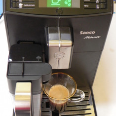 Espressor automat Saeco Minuto HD 8763/01 One Touch Cappuccino expresor