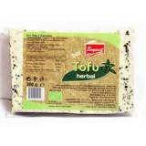 Tofu Bio cu Verdeturi (folie vacuum) Soyavit 200gr Cod: sv08