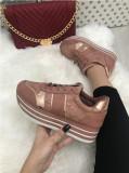 Adidasi dama roz cu platforma marime  38, 39,  40, 41+CADOU