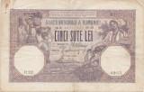 ROMANIA 500 LEI APRILIE 1919 VF