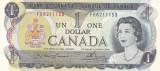 Bancnota Canada 1 Dolar 1973 - P85a UNC ( semnaturi Lawson - Bouey )