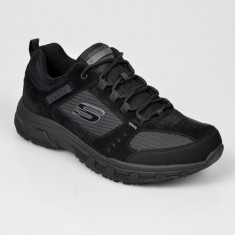 Pantofi sport SKECHERS negri, 51893, din material textil