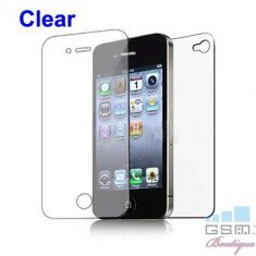 Folie Protectie Display iPhone 4s 2 in 1 Clear Protector, Apple