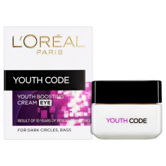Crema antirid Codul Tineretii pentru conturul ochilor L Oreal Youth Code Eye 15 ml