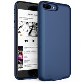 Cumpara ieftin Husa Baterie Ultraslim iPhone 7 Plus/8 Plus, iUni Joyroom 3800mAh, Blue