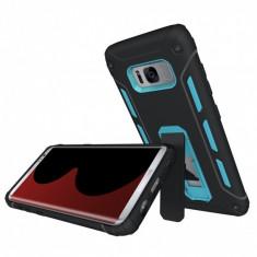 Carcasa protectie spate 2 in 1 pentru Samsung Galaxy S8 G950 albastra