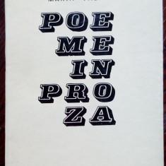 MARIA VALER - POEME IN PROZA (editia princeps, EPL 1969)