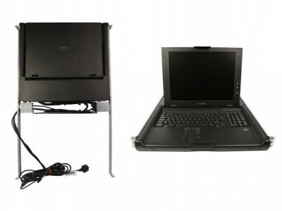 Consola rackabila tastatura si monitor HP KVM TFT5600 RKM 15inch 1024x768 237259-004 foto