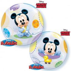 "Balon Bubble 22""/56cm Mickey Mouse Baby, Qualatex 16432"