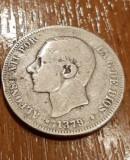 Moneda 2 peseta 1879 de argint, Europa
