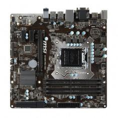 Placa de baza MSI Socket LGA1151, B150M PRO-VDH, Intel B150, 4*DDR4 2133MHz, 1*HDMI, 1*VGA, 1*DVI, 1*PCIEx16, 2*PCIEx1, 6*SATAIII, 1 bulk, Pentru INTEL, Altul