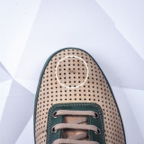 Resigilate Pantofi Piele barbati khaki Turosi
