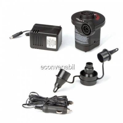 Pompa de Aer Electrica Intex 12V 220V 66632 foto
