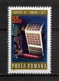 România - 1972 - LP 800 - Centenarul fabricii de timbre - serie completă MNH, Nestampilat